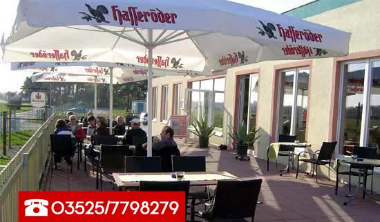 Das Airpark-Restaurant Kiebitz in Riesa Göhlis am Flughafen